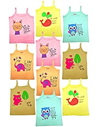 HAP Kids Colored Camisole \Pack Of Ten