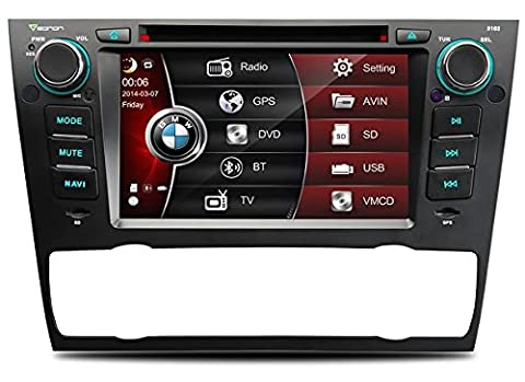 EONON D5165X AUTORADIO 2 DIN GPS SD DVD MP4 MP3 BMW E90 E91 E92 E93 BT GPS USB DIVX