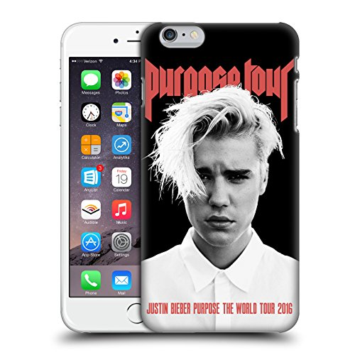 Head Case Designs Offizielle Justin Bieber Purpose Poster Tour Merchandise Ruckseite Hülle für iPhone 6 Plus/iPhone 6s Plus