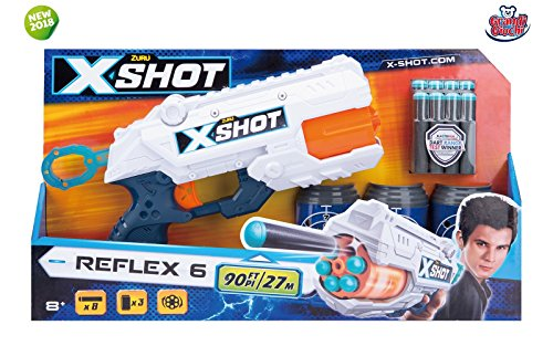 Grandi Giochi X-Shot Excel Reflex 6 dardi GG-46019