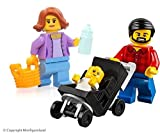 LEGO City MiniFigure: Combo Package (Mom, Dad, & Baby in Stroller) 60134