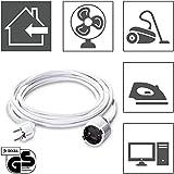 TROTEC Rallonge PVC 5 m | 230 V | 1,5 mm² | rallonge électrique avec câble H05VV-F 3G1,5