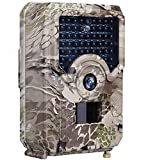 QqHAO Trail Camera 12MP 1080P Full HD Hunting Cam Infrared Night Vision Waterproof