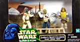 """Jabba`s Skiff Guards Set mit Klaatu, Barada und Nikto - Star Wars """"Power of the Force"""" Collection von Kenner / Hasbro"""