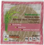 Star Anise Foods Vietnamese Brown Rice Spring Roll Wrapper - Pack of 6