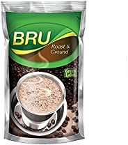 Bru Green Label Filter Coffee - Ground & Roast, 5