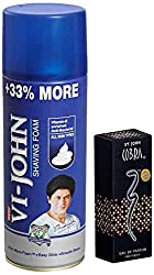 Combo Pack VI John Shave Foam for Hard Skin (400 g) + Cobra Perfume (30 ml)