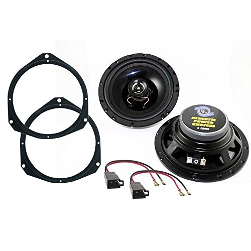 Kit Lautsprecher Lautsprecher Opel Astra H/Corsa D–120Watt–16,5cm vor
