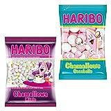 Haribo Chamallows, Cocoballs, Minis, 2er Set, Schaumzucker, Marshmallows, Mausespeck, 2 Beutel zu je 200 g