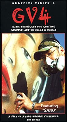 Graffiti Verite' 4 (GV4) Basic Techniques for Creating Graffiti Art on Walls and Canvas [VHS] - low-cost UK light store.