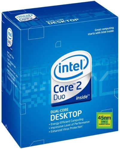 Intel Core 2 Duo Desktop-Prozessor E7200 Box (2,53 GHz, Sockel 775, 3 MB L2-Cache) - 2 Intel Lga775 Duo Prozessor Core