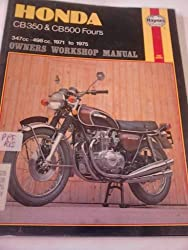 Honda 4  500 and 350 Owner's Workshop Manual