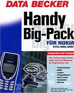 Handy Big- Pack für Nokia 8210/8850/8890. CD- ROM für Windwos ab 95, NT4/2000