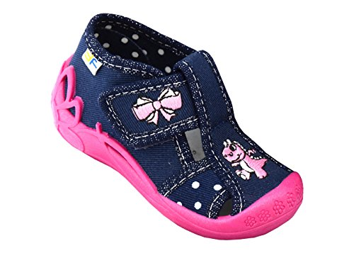 Bild von 3f freedom for feet Babyschuhe Mädchen Süß Schuh Glitzern Kleinkind Neugeborene Schuhe mit Klettverschluss (Option mit Leder Einlegesohlen)