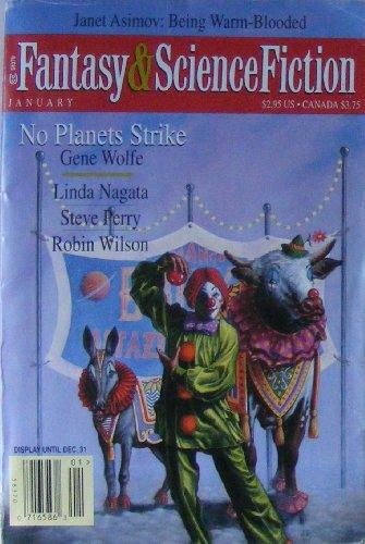 The Magazine of Fantasy & Science Fiction January 1997 (Volume 92, No. 1, Whole No. 547)