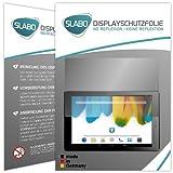 2 x Slabo Bildschirmschutzfolie Odys Pro Q8 Bildschirmschutz Schutzfolie Folie