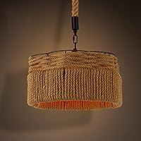 BBSLT American-retrò campi di luce delle industrie creative nel vento rurale lampadario di corda bar ristorante Ristorante Chandelier 400*300mm
