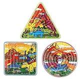 6 X Dinosaur Maze Puzzle