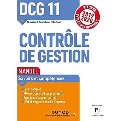 DCG 11 Contrôle de gestion - Manuel - Réforme 2019-2020: Réforme Expertise comptable 2019-2020