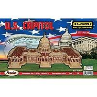 Comparador de precios 3D Natural Wood Puzzle - U.S. Capitol Building by Puzzled, Inc. - precios baratos