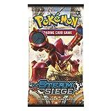 Pokemon XY11 'Steam Siege': 1 Sachet de 10 Cartes pour Pokémon TCG (Random, Version Anglaise)