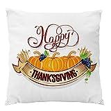 Sweetheart -LMM Thanksgiving Day Sofa Bett Kissenbezug Kissenbezug Weicher Plüsch Überwurf Heimdeko Festival für Weihnachten 45,7 x 45,7 cm a