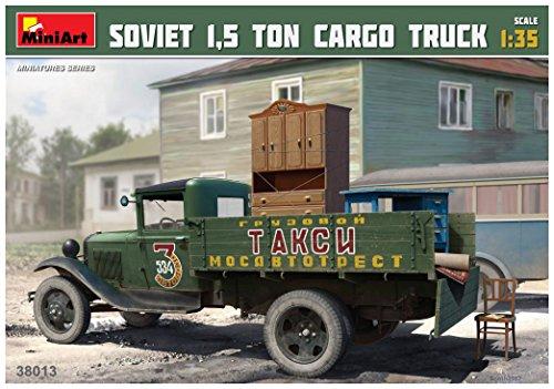 Unbekannt 'Mini Tipo 38013Maqueta de Soviet 1.5Ton Cargo Truck
