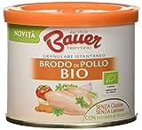 Bauer Brodo Granulare Istantaneo di Pollo Bio 120 gr