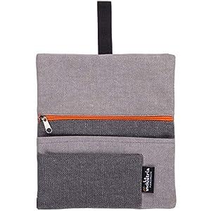 Tabakbeutel aus Stoff, Tabaktasche mit Feuerzeug-, Filter- und Blättchen-Tasche