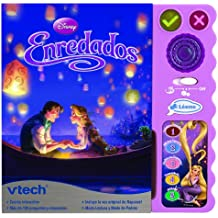 Disney - Aprendo a leer con Enredados, libro interactivo educativo (VTech 80-062987)
