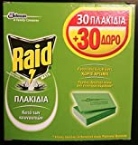 SC Johnson RAID Matte 60insektenabweisend Tabletten repells Mücken Bremsen und Mücken