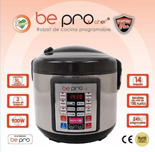 Top SHOP BePro Chef Robot de cocina Potencia: 900W. para cocción al horno y a vapor DB5
