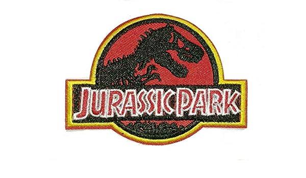 Jurassic Park bestickt Tuch Eisen auf Patches
