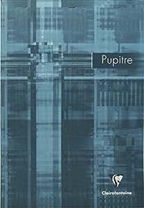 Clairefontaine 6152C Bloc Pupitre agrafé avec micro perforation 160 pages petits carreaux 90 g A4 Couleur Aléatoire