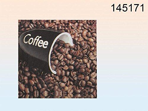 Papier Servietten - Kaffeebohnen - Coffee
