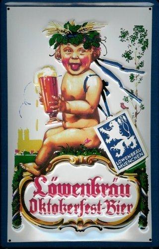 lowenbrau-munchen-oktoberfest-affiche-metallique-avec-inscription-en-allemand-bier-bierwerbung-brass