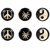 Urban-Jewelry -Pendientes para Unisex de color Negro/Dorado de - Best Reviews Guide