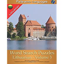 Parleremo Languages Word Search Puzzles Lithuanian - Volume 3