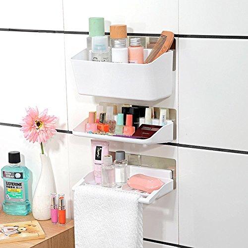 Cathaybest baldas para esquina ducha estante organizador for Organizador para ducha