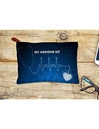 Design Elegant Canvas Medicine kit pouch. (PPD)