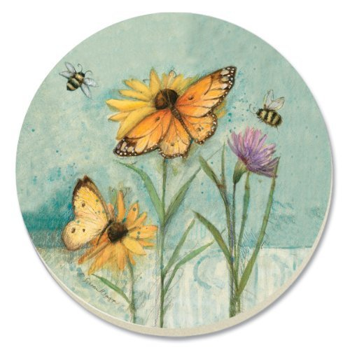 CounterArt Rejoice in Spring Absorbent Coasters, Set of 4 by Counter Art