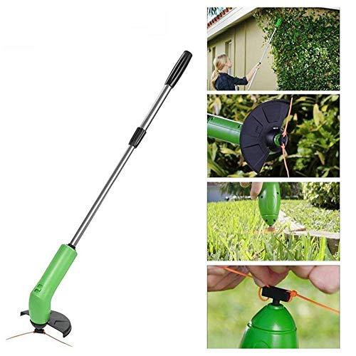 Rishx Cordless Weed Trimmer Edger, Sicherheit Portable Erweiterbar Trimmer mit Schutzschild Multifunktionale Garten Manuelle Weeder (Gartenarbeit Edger)