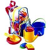 SPIELSTABIL  - Mochila con juguetes de playa [Importado de Alemania]