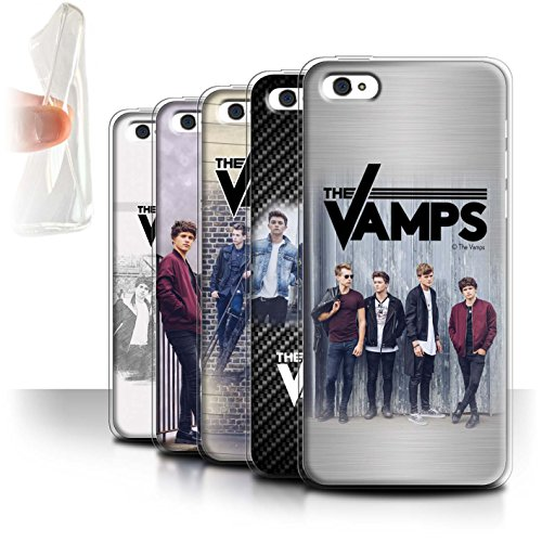 Offiziell The Vamps Hülle / Gel TPU Case für Apple iPhone 5C / Pack 6pcs Muster / The Vamps Fotoshoot Kollektion Pack 6pcs