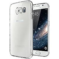 vau Ultra Hybrid Case - transparent - durchsichtige Schutz-Hülle, Tasche für Samsung Galaxy S6
