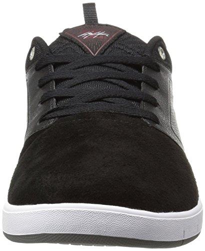 Chaussures De Patinage Signature Chris Cole Signature Pour Homme, Noir / Olive, 6 M Nous / Rosso / Bianco