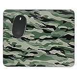 Military Camouflage Mousepad–Neopren für optische und Laser Maus, grün, Rectangle Mousepad
