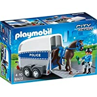 Playmobil 6922 City Action Police with Horse and Trailer