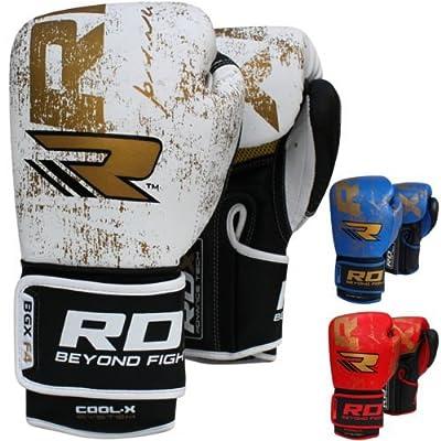 RDX Rindsleder Boxhandschuhe Training Sparring Kickbox Handschuhe Muay thai Sandsackhandschuhe von RDX auf Outdoor Shop