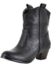 d5f82954f21af Amazon.co.uk: Cowboy Boots - Boots / Women's Shoes: Shoes & Bags